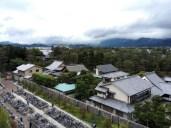 View from my classroom, overlooking Shokokuji, Zen temple complex