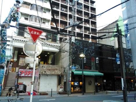 Shinsaibashi at dawn