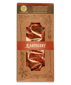 ChocTree Organic raspberry bar