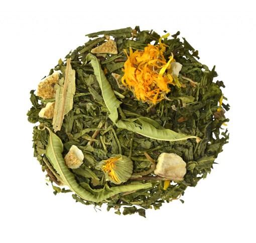 Mellow Mandarine bio thee in piramide en los
