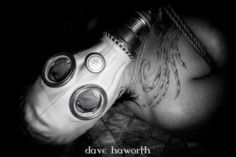 """Goodbye Blue Sky"", photographed in a secret lair, Portland, OR 2015. © Dave Haworth. Rope/Photography: Me, Model: thatgirlbenny"
