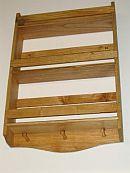 3 tier Pine wood spice rack.