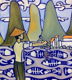 Fisherman in Village #2