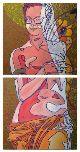 Venus de Idjeli, Oil on Canvas, 42x20 inch, 2015