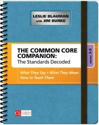 Common Core Companion, 3-5, Jim Burke