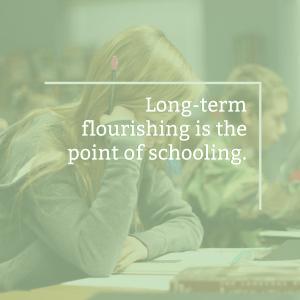 Post Image- Long-term flourishing in 300 words