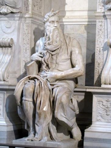 Michelangelo's Moses, Church of San Pietro in Vincoli, Rome