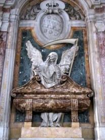Crazy decorations at the Church of San Pietro in Vincoli, Rome