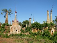 Ancient stupas at Inthein Village