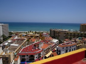 View from the old town of Torremolinos