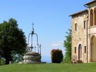 Old well near the San Biagio church, Montepulciano