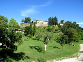 Our hotel for the final night in the Roman countryside
