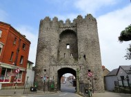 St. Lawrence Gate, Drogheda. Part of the old city walls.