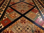 Floor tiles in St. Patrick's Cathedral