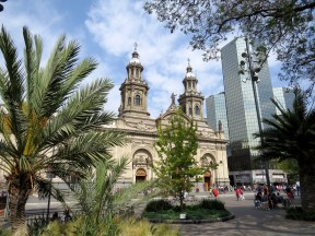 Metropolitan Cathedral, Santiago