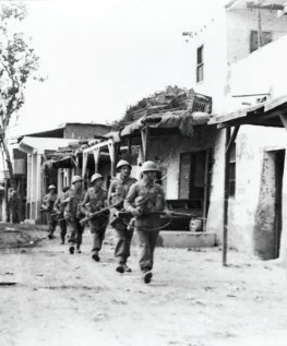 İngiliz birlikleri, İsmailiye, Mısır, 19 Ocak 1952.