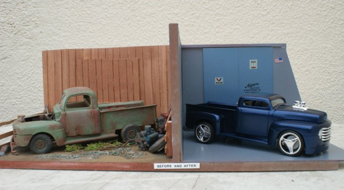 """1/25th Scale """"Before and After"""""""