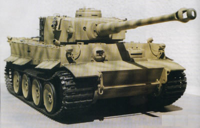 1/15th Scale Bandai Tiger I