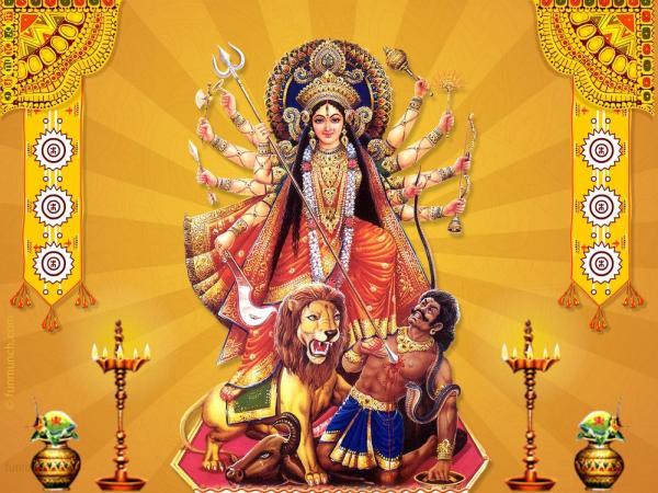 Maa-Durga-Graphic