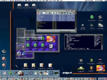 Amiga desktop