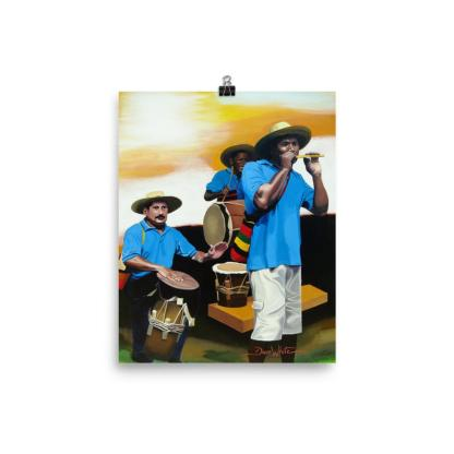 Colombia Vallenato Painting