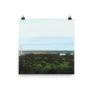 Washington DC Landscape Painting