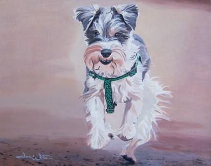"""""""dog painting"""", """"dog portrait"""", """"dog art"""", """"dave white artist"""", """"dave white art"""", """"dog oil painting"""""""