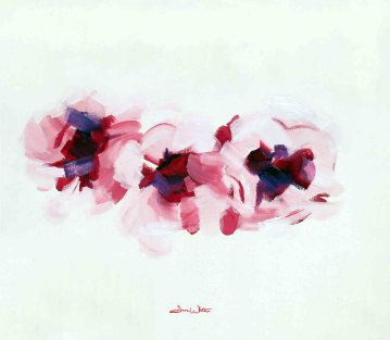 Cherry Blossoms Painting