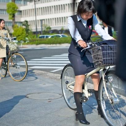Hiroshima Cyclist