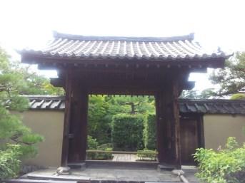 Gateway to Daitoku-ji zen temple complex, Kyoto