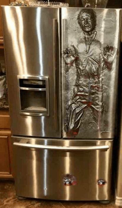 Han Solo carbonate referigerator