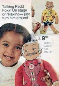 Talking Red Foxx doll