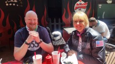 Bar-B-Q lunch at Hell's Kitchen