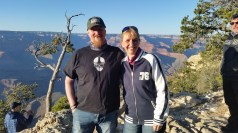 Waiting for sunset at the Grand Canyon