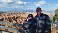 Babs & Roly at Bryce Canyon