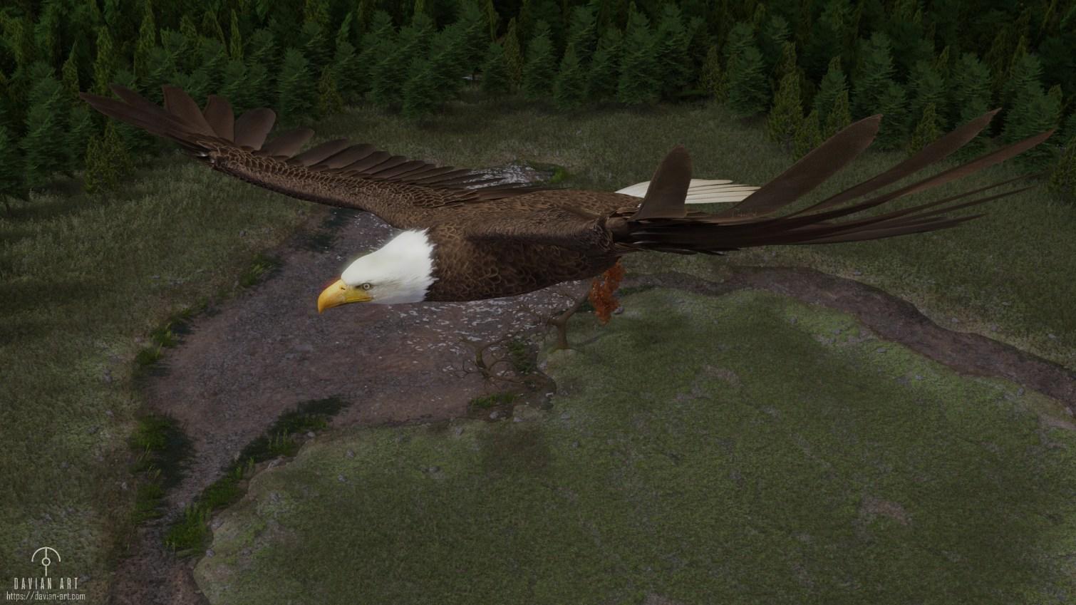 EagleByDavianArt