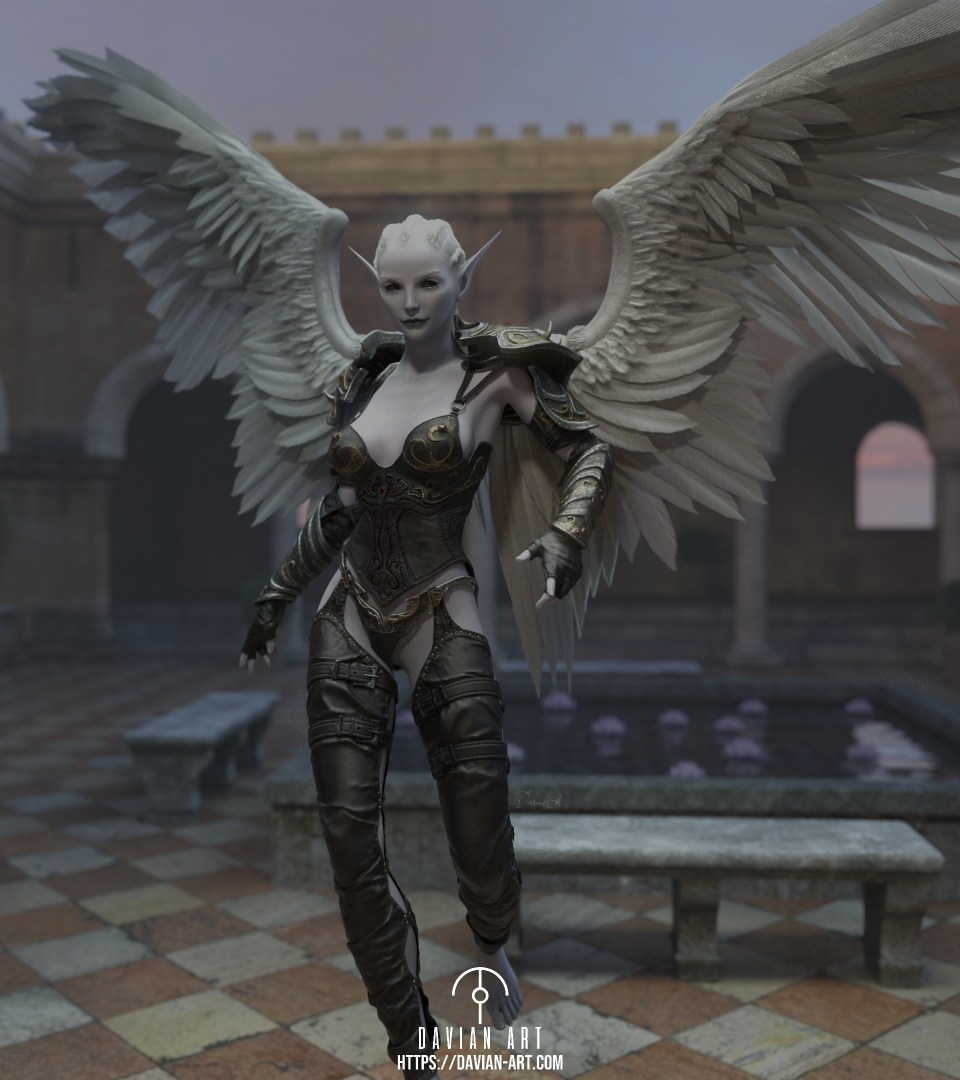 AngelByDavianArt