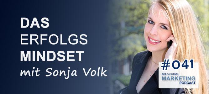 DAM 041: Das Erfolgsmindset – mit Sonja Volk