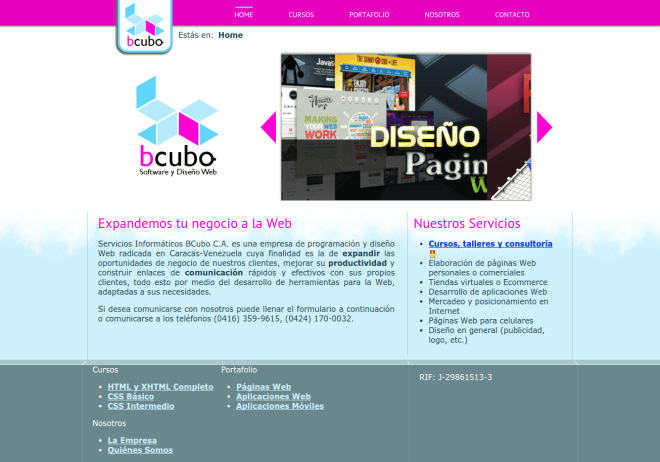 BCubo   Software y Diseño Web