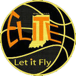 let it fly elite logo basketball indiana david bonnel-black-150