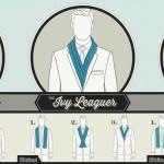 Jak wiązać szalik męski – 6 sposobów