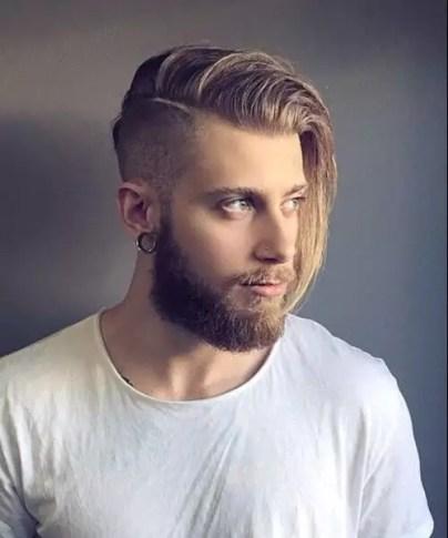 fryzury męskie 2019 długie