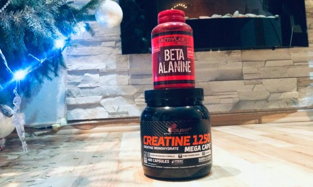 Beta alanina + kreatyna – idealne połączenie