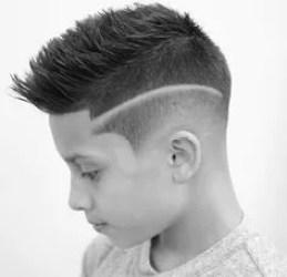 fryzura dla chłopca