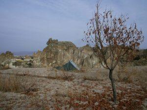 En Turquie, petite expédition dans le désert.