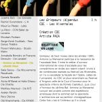 Les grimpeurs (é)perdus, Février 2015, Hivernales d'Avignon, Avignon