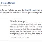 Gloubiboulga Décembre 2012, Le fil Grenoblois, Grenoble