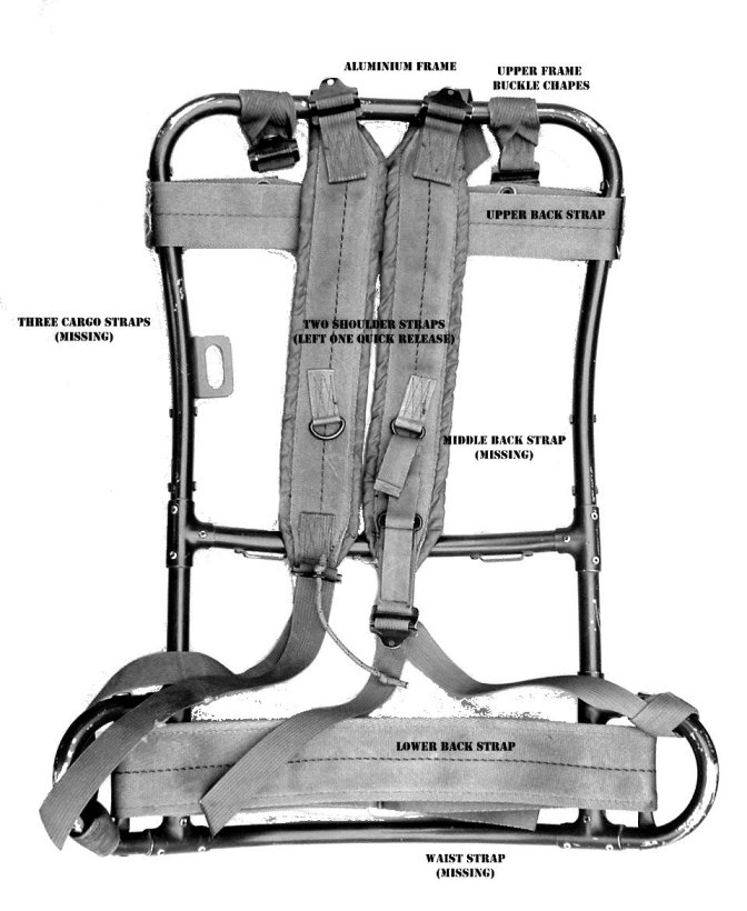 How to Assemble your Tropical Rucksack Frame | The Last Patrol