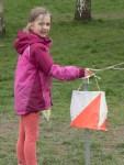 Emma finishing at Fleming Park