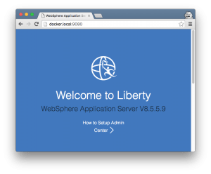 WebSphere Liberty under Docker for Mac Beta